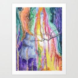 Abstract Vision Path Art Print