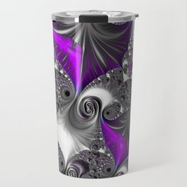 A Hint Of Purple Travel Mug