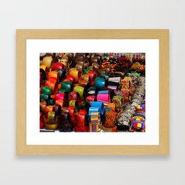 Colors of the Caribbean Framed Art Print