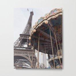 Paris love Metal Print
