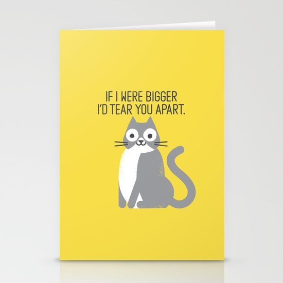 Purrfectly Honest Stationery Cards