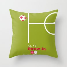 Throw-in (No.15) Throw Pillow