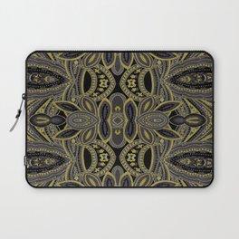 Paisley 5 Gold Laptop Sleeve