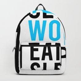 Eat Sleep Work Repeat Backpack