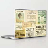 ballon Laptop & iPad Skins featuring Le Ballon by Ephemera's Vintage Garden