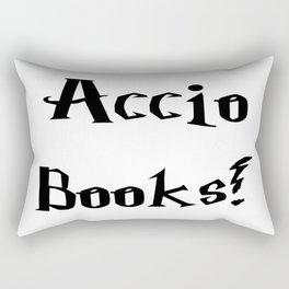 Accio books!  Rectangular Pillow