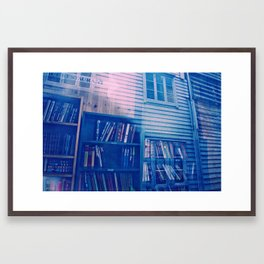 Sticks & Stacks Framed Art Print