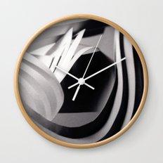 Paper Sculpture #4 Wall Clock