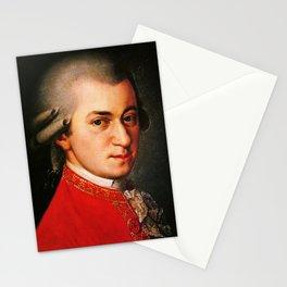 Wolfgang Amadeus Mozart portrait Stationery Cards