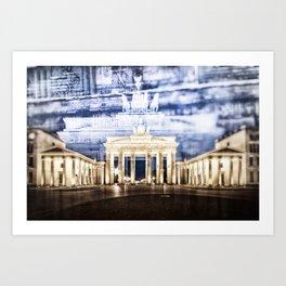 BERLIN Brandenburg Gate | In Detail Art Print