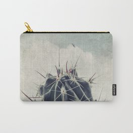 Cactus with textured background Carry-All Pouch
