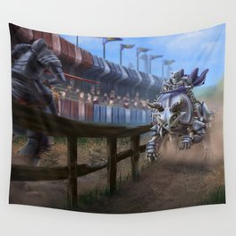 Dino Joust Wall Tapestry
