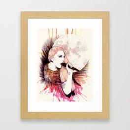 Warrior Queen Framed Art Print