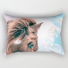 Horse horseshoes Rectangular Pillow