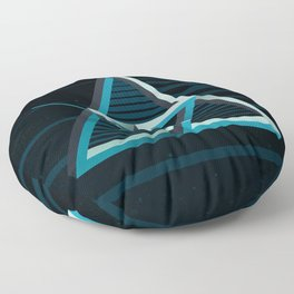 Impossible time Floor Pillow