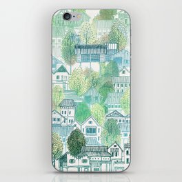 Jungle Village iPhone Skin