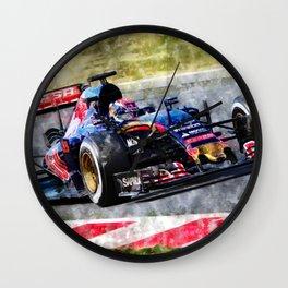 Max Verstappen 2015 Wall Clock
