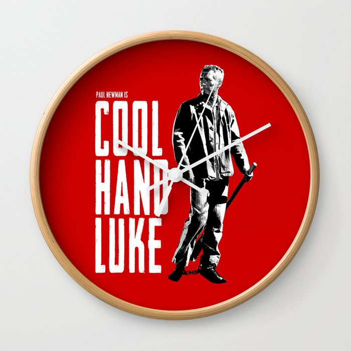 Paul Newman - Cool Hand Luke Wall Clock