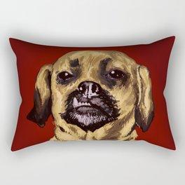 snaggle tooth Rectangular Pillow