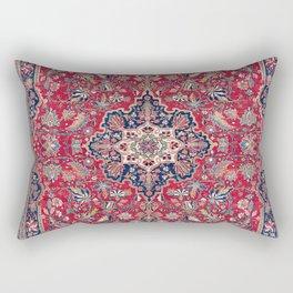 Bijar Kurdish Northwest Persian Rug Print Rectangular Pillow