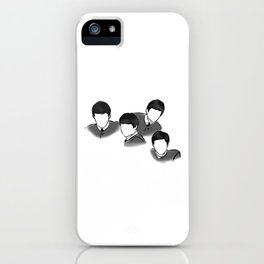 The Fab Four Rock Icon Silhouettes iPhone Case