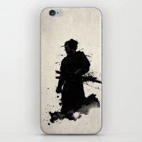 samurai iPhone & iPod Skins featuring Samurai by Nicklas Gustafsson