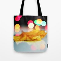 lonely Tote Bags featuring lonely by AleArcangeli