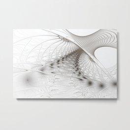 Achterbahn Metal Print