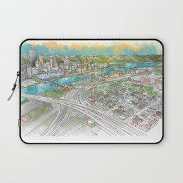 Pittsburgh Aerial Laptop Sleeve