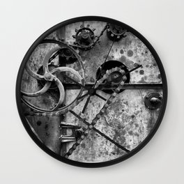 Old Farm Mechanics 1 Wall Clock