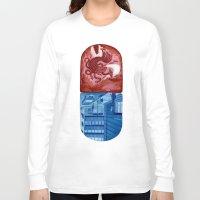 matrix Long Sleeve T-shirts featuring Matrix by otaviocvo