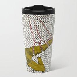 The hanging girl I Travel Mug