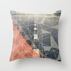 Earn the Downhill Throw Pillow