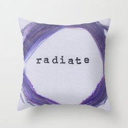 Radiate Throw Pillow