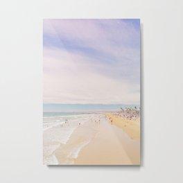 Newport Beach Pier Metal Print