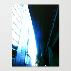 fly over london Canvas Print