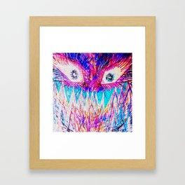__--*:-) Framed Art Print