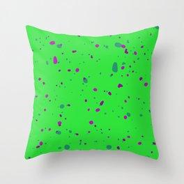 Abstract organic pattern III Throw Pillow