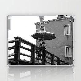 Gondolier in Venice Laptop & iPad Skin
