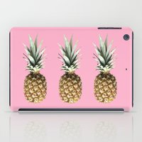 pineapples iPad Cases featuring Pineapples by Yilan