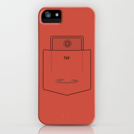 "Her Pocket - From the Movie ""Her"" iPhone Case"