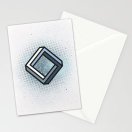 Impossible Rhombus Stationery Cards