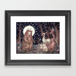 Storyteller Framed Art Print