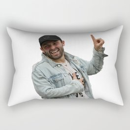 baker mayfield x Oklahoma Rectangular Pillow
