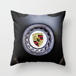 PorscheWheel Throw Pillow