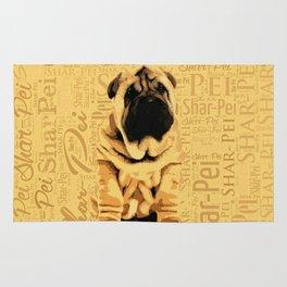 Shar-Pei puppy Rug