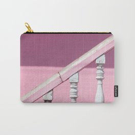 Pink Stairway Carry-All Pouch
