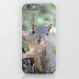 Who You Lookin' At? iPhone Case