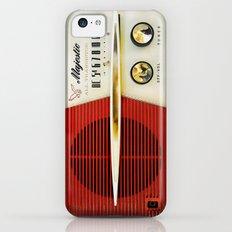 Classic Old Vintage Retro Majestic radio iPhone 4 4s 5 5c 6, ipad, pillow case, tshirt and mugs iPhone 5c Slim Case