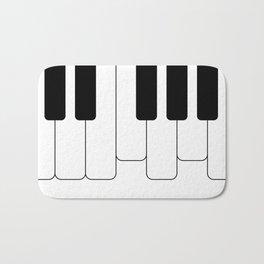 Piano keys. Playing Piano #society6 #decor #buyart #artprint Bath Mat